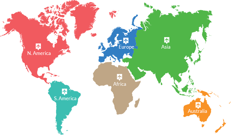 countries Map iJET